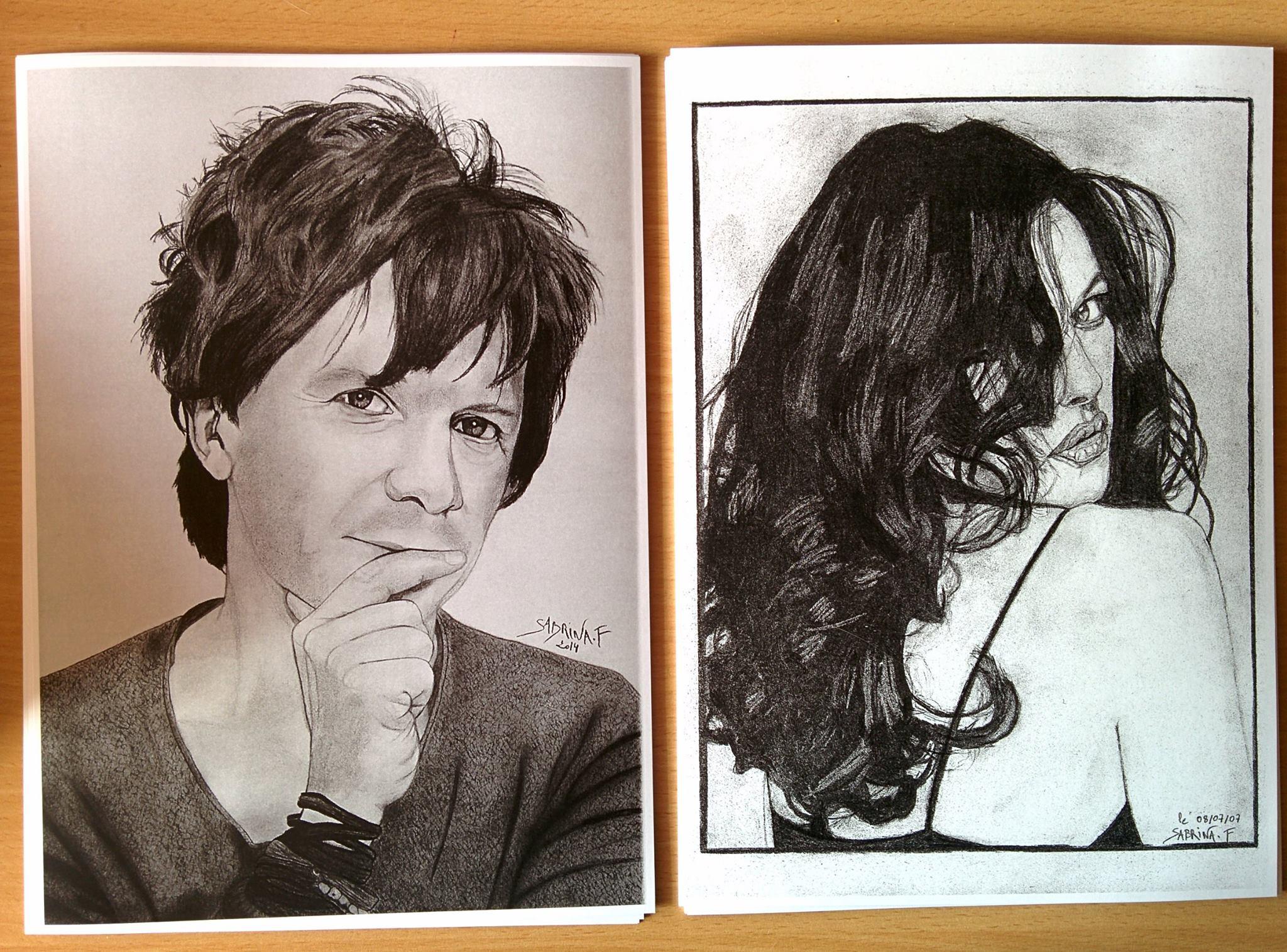 Reproductions Monica Bellucci, Nicola Sirkis