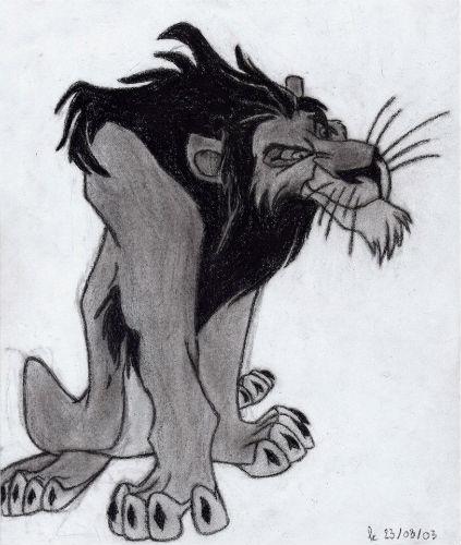 Le roi lion (Scar)